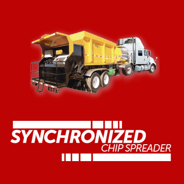 synchronized chip spreader